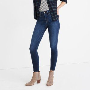 "Madewell 10"" High Rise Skinny Jean Insuluxe 24T"